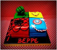 Cakes design SUPEREROI PasticceriaDece ViaCalefati 93 Bari