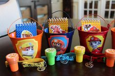 Paw Patrol Party Favor Kit...Includes 7 by DetailsandAccents