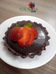 Torta ganache viva de chocolate – Sem glúten e sem lactose