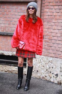 Vivianna Volpicella- Milan fashion Week winter / fall'13