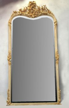 1000 images about mirror 39 tss on pinterest hall mirrors mirror headboard and frame mirrors - Espejos antiguos grandes ...