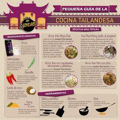 Esta es una guía básica de la cocina tailandesa, con las herramientas, las recetas más típicas y los ingredientes básicos.