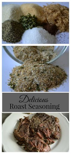 I'M USING ON A VENISON ROAST. Take your roast to the next level in your CrockPot or slow cooker with a DIY seasoning blend. You probably have all of the ingredients in your kitchen right now. Slow Cooker Roast, Slow Cooker Recipes, Crockpot Recipes, Cooking Recipes, Cooking Tips, Rib Recipes, Entree Recipes, Cheese Recipes, Food Tips