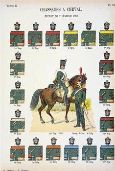 Les cavaliers de la Grande Armée :: Tous les Chasseurs à Cheval avant l'Empire