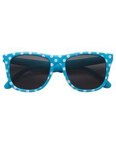 Fun print sunglasses provide 100% protection from harmful UVA and UVB rays.