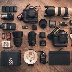 Gear Inspiration of the day!!  Take a peek at this wedding photographer's gear - photo by @iletaitunpixel