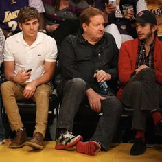 Zac at the Nuggets vs. Lakers game on May 1, 2012