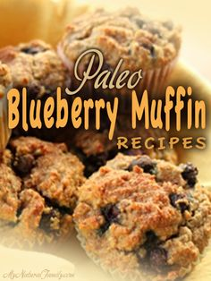 Paleo Blueberry Muffins Recipes