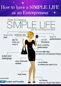 How to have a simple life as an Entrepreneur #Motivation #EntrepreneurLife