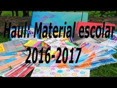 Haul: Compras de material escolar 2016-2017 - YouTube