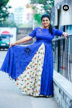 Roja in indo western dress Indian Western Dress, Western Dresses, Indian Dresses, Indian Wear, Long Gown Dress, Saree Dress, Long Frock, Long Dresses, Maxi Dresses