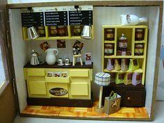 European Cafe by P's Design Miniatures, via Flickr