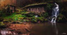 Molin de Obaya - En lo mas profundo de los bosques Asturianos, podemos…