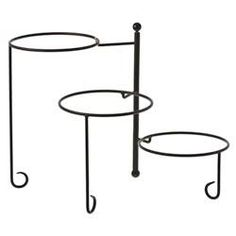 buffet server stand with plates - Google Search