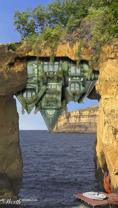 Real Estate headings of the most unusual Cottages in the world.