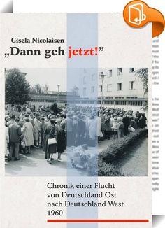 """Dann geh jetzt! :: Drei Jahre vor dem Bau der Berliner Mauer hat der """"Kalte Krieg"""" eine neue Dimension erreicht. Verunsichert und nervös beobachten viele Menschen in der DDR die Auseinandersetzungen zwischen der Sowjetunion und den Westmächten. Was wird aus Westberlin? Wie lange wird es noch möglich sein, über den Westteil der Stadt aus der DDR zu fliehen? Die zwanzigjährige Leipziger Studentin kann sich nicht abfinden mit der politischen Bevormundung durch den DDR-Staatsapparat. S..."""