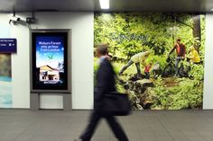 Center Parcs comes to Waterloo Station for launch campaign of new village