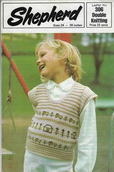 245164e18330 Baby   Toddler Hearts   Stripe Sweater Moda knitting pattern 4 ply ...