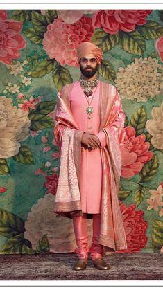 Sabyasachi Collection, Indian Groom Wear, Mens Indian Wear, Shyamal And Bhumika, Indian Men Fashion, Indian Wedding Planning, Indian Heritage, Groom Style, International Fashion