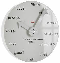 24h Sentence Maker Clock