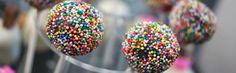 Oferta kolorowych ciasteczek   Cake Pops