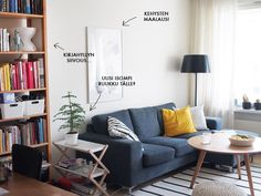 Kotilo - Divaaniblogit Tallit, Sofa, Couch, Furniture, Home Decor, Settee, Settee, Decoration Home, Room Decor