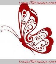 Resultado de imagen para mariposas stencil