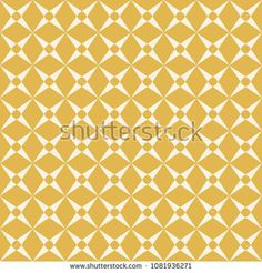 Vector golden geometric pattern. Abstract seamless background with grid, lattice, rhombuses, diamond shapes, repeat tiles. Elegant yellow and beige texture. Design for decor, fabric, carpet, cloth