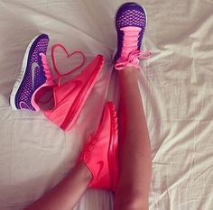 #sneakers  pink -  bed,  #pretty -  nike