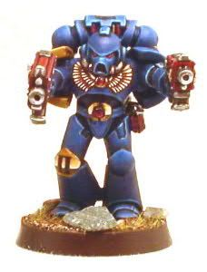 Ultramarine painting methods - The Bolter and Chainsword : A 40k Space Marine Resource