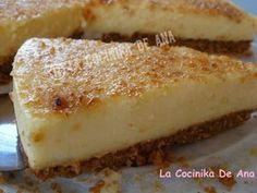 La Cocinika De Ana: Tarta de crema catalana a la naranja