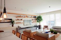 sala de estar - living room - Studio 021 Arquitetura - Interior Design - Rio de Janeiro