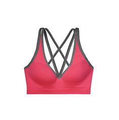 Victorias Secret PINK Strappy Back Seamless Push Up Bra Large Watermelon -- Details can be found by clicking on the image.