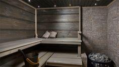 dark, but not too dark sauna