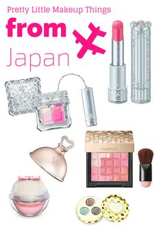 There are quite a few pretty little Japanese makeup and beauty bits and bobs launching in Japan this Spring that I can't wait to get my hands on. Here are