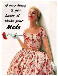 Funny vintage retro humor