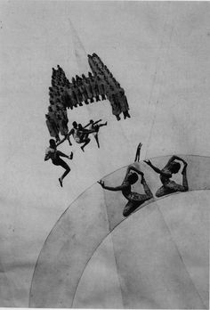the-dream-of-a-girls-boarding-1925.jpg (1340×1976) Laszlo Moholy Nagy  [ decupaj in photography ]