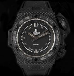 17a0afb3150 Hublot King Power Oceanographic Gents Carbon Black Dial B P 731.QX.1140.RX