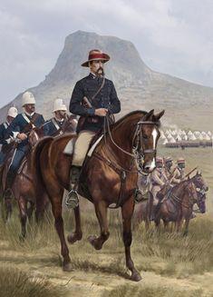 Zulu War 1879 - Brevet Colonel A.W Durnford at Isandlwana