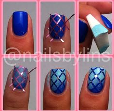This would be fun to try this nail design