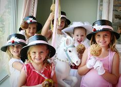 A Mary Poppins Birthday Party