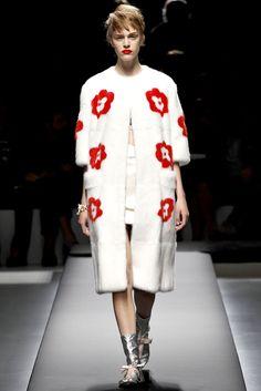 Prada Spring 2013 Ready-to-Wear Fashion Show - Hedvig Palm