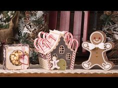 Santa's Sweets SVG Kit - Assembly Tutorial - YouTube