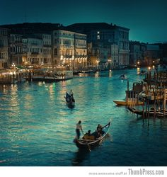 Venice, Italy - would love to visit!