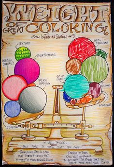 Lots of unique, creative poster ideas for the art classroom.  Teaching good habits in the art class.