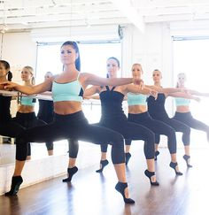 Barre class squats! | Work Out | Inspiration | Fitness | Work it | Barre | Sacred Tusk