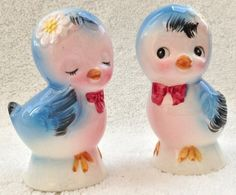 Salt Amp Pepper Shakers On Pinterest Vintage Ceramic