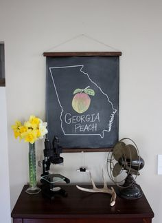 Products Chalkboard In Kitchen