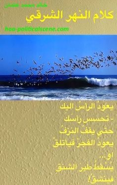 "Poetry from ""#Speech of the #EasternRiver"" by poet & journalist Khalid Mohamed Osman on #seabirds #fishing in a #flock_of_birds... #group_fishing"