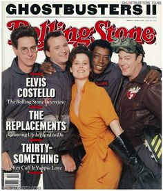 Ghostbusters on the cover of Rolling Stone magazine